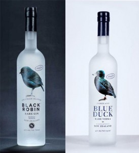 A gin and vodka from New Zealand.