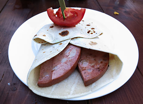 Grilled Mortadella