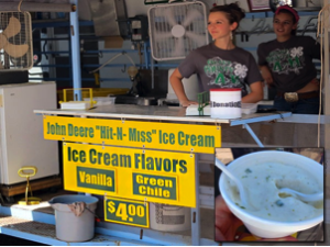 Green Chile Ice Cream
