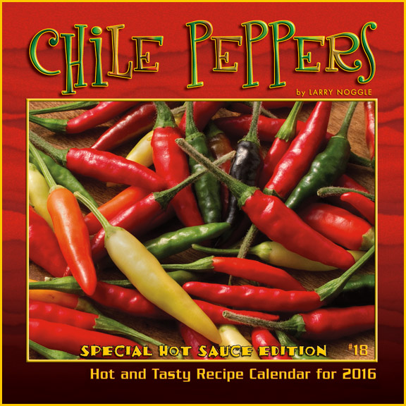 2016 Chile Peppers calendar