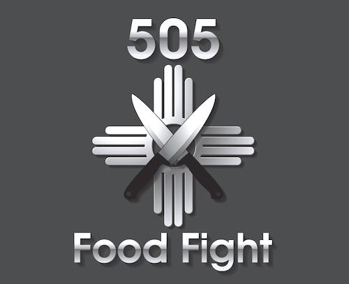 505 Food Fights Logo