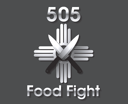 505 Food Fights Logo