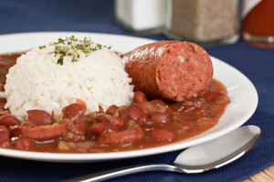 Andouille with Red Beans and Rice