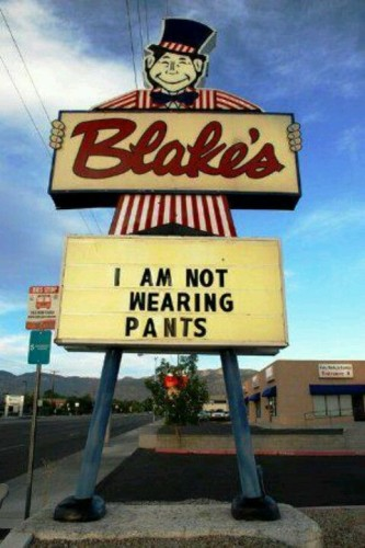 Blake's sign