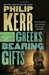 Phillip Kerr is as good a crime writer as Michael Connelly, and this new one is set in Athens in 1957 and involves greedy ex-Nazis, missing Jewish gold, and a killer who shoots his victims in both eyes.  Thrilling, sardonic, and a great read with wonderful atmosphere,