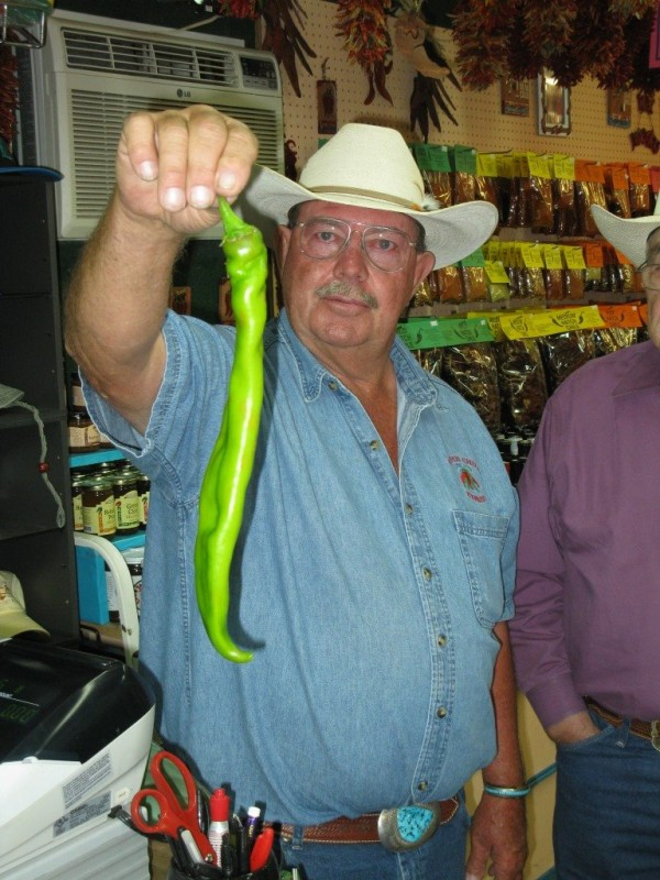 Jimmy Lytle with Huge Chile