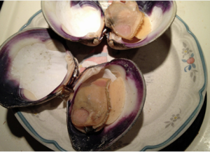 Grilled Clams with Compound Butter