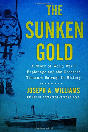 This is a great story that survives the author, who's not a particularly good writer. But the dramatic tale of the recovery of 44 tons of World War One gold from the ocean off the coast of Ireland is a tense and thrilling one.