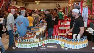 The Long and Winding Hot Sauce Display