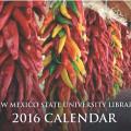 2016 NMSU Library Calendar cover
