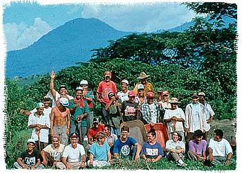 ceren_crew with volcano