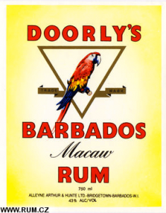 Macaws don't live in Barbados except when you're drinking.