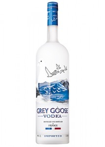 A French vodka named after the Toulouse goose (I'm not making this up!).
