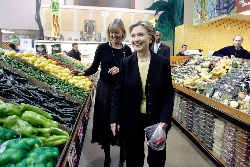 Hillary Clinton and Peppers