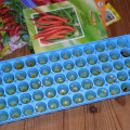 seeds in ice cube tray