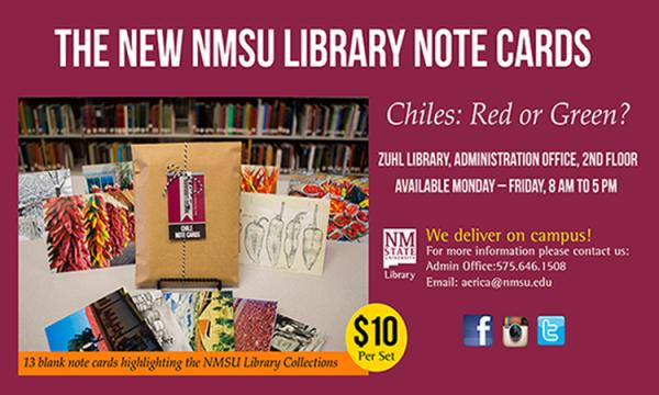 NMSU Chile notecards