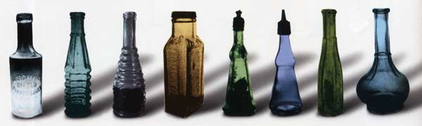 Antique Hot Sauce Bottles