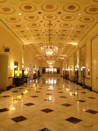 Lobby of the Mayflower Hotel
