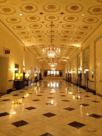 Lobby of the Mayflower Hotel